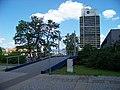 Most, lávka z 2. náměstí k poště.jpg
