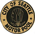 Motor pool sticker, circa 1960s (36642428173).jpg