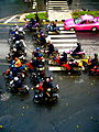 Motorcycle traffic in Bangkok Thailand.jpg