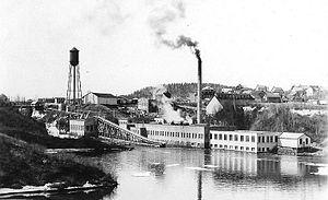 Jonquière - Image: Moulin Jonquiere