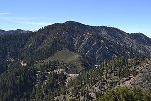 Mount Islip - Mount Islip from the Pacific Crest Trail