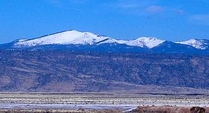 Mount Taylor (New Mexico) - Image: Mount Taylor NM