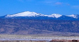 Mount Taylor (New Mexico) Stratovolcano in the San Mateo Mountains, North America