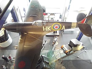 Thinktank, Birmingham Science Museum - Image: Move It Thinktank Birmingham Science Museum Supermarine Spitfire Mark IX (8619275013)