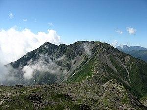 Mount Nōtori - Mount Nōtori from Mount Aino