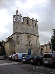 The church of Saint-Ascicle and Sainte-Victoire