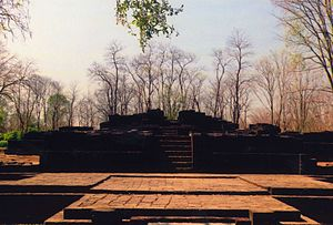 Mueang Sing Historical Park - Remains of a building at the Prasat Muang Sing Historical Park.