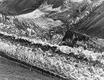Muldrow Glacier, valley glacier crevasses, August 4, 1957 (GLACIERS 5171).jpg