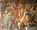 Munich Nibelung Halls-Battle between Nibelungs and Huns 01.jpg