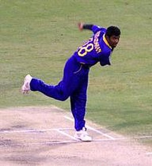 Tamil Union Cricket and Athletic Club - The club's most famous cricketer Muttiah Muralitharan