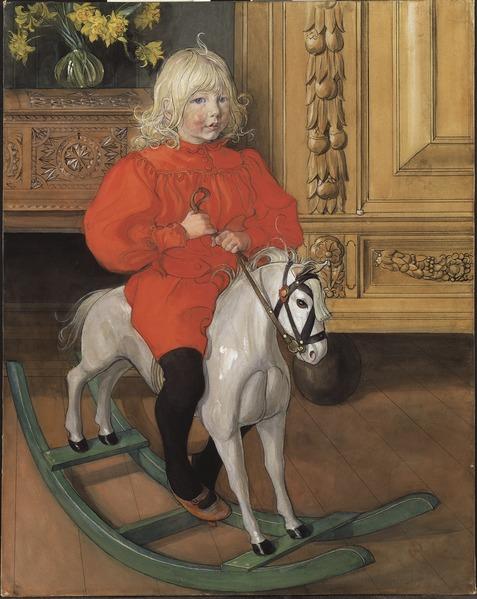 Файл: Мурре.  Портрет Казимира Лорина (Карл Ларссон) - Национальный музей - 90181.tif