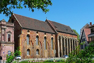 Unterlinden Museum - Outside view of the chapel