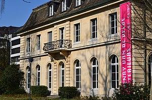 Museum of Design, Zürich - Museum Bellerive situated on Lake Zürich shore in Zürich-Seefeld