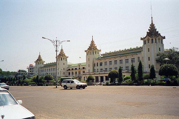 Yangon Central Railway Station