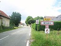 Myans - Panneau entrée.JPG