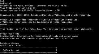 MySQL SQL database engine software