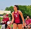 NCAA sand volleyball FSU vs LSU, 2015 (17076436221).jpg