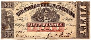 North Carolina Confederate currency
