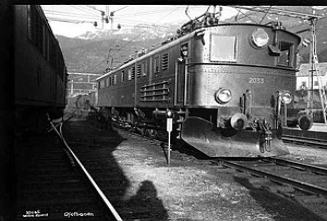 NSB El 4 - Image: NSB El 4 in Narvik 2