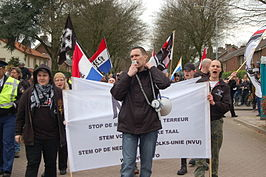 Demonstratie van de NVU in Ede, 2011