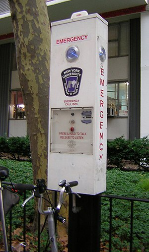 Callbox - New York University callbox