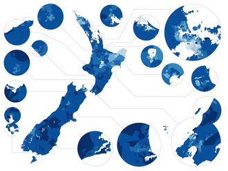 Demographics of New Zealand - Image: NZ Census 2013 European
