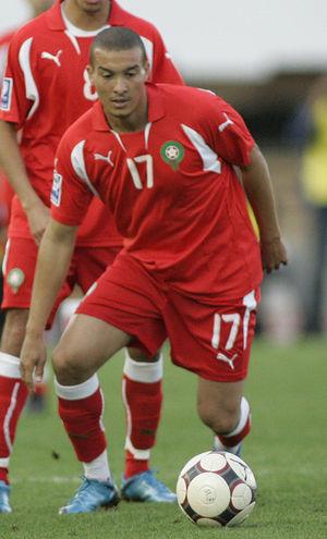 Nabil Baha - Baha playing for Morocco in 2009