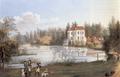 Nagel, Johann Friedrich - Jagdschloss Grunewald von Nordwesten.png