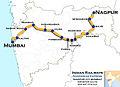Nandigram Express (Nagpur - Mumbai) Route map.jpg