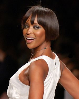 Naomi Campbell - Campbell on the catwalk for Peter Som in 2007