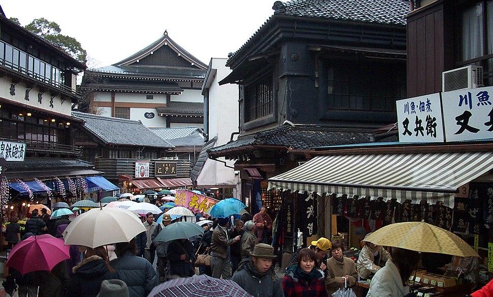Narita Street in Japan.JPG