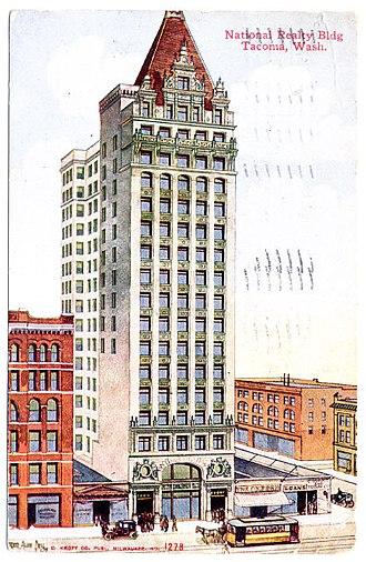 Frederick Heath (architect) - National Realty Company Bldg, Tacoma, Washington