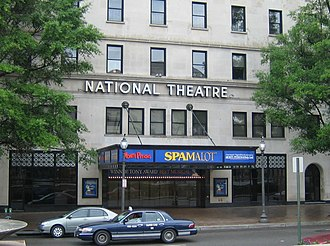 Spamalot - Spamalots North American tour took it to Washington, D.C.'s National Theatre in May 2006.