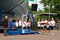 Natwest Island Games 2009, half-marathon women team.jpg