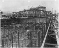Naval Air Station, San Pedro, June 30, 1945 - NOY-11999 - View of Stern Forms and Steel Erection - ARDC-13 - NARA - 295539.tif