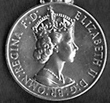 Naval General Service Medal 1915 (Obverse) First Elizabeth version