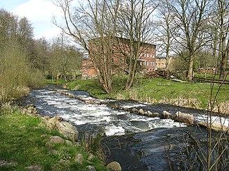 Nebel (river) - Fish ladder near Hoppenrade