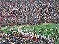 Nebraska vs. Michigan 2011 05 (Nebraska takes the field).jpg