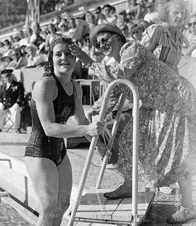 Ma Braun Dutch swimming coach