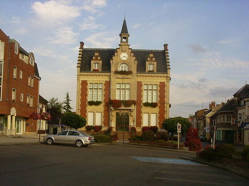 Nesle, stadhuis