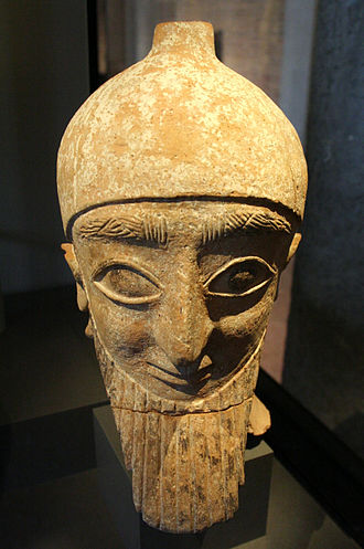 Idalium - Terracotta statue from Idalion, 7th or 6th century BC. Neues Museum, Berlin