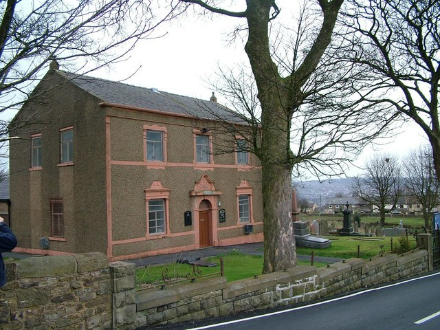 New Row Methodist Church, Livesey, near Blackburn - geograph.org.uk - 447612