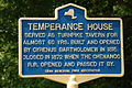 New York State historic marker – Temperance House.JPG