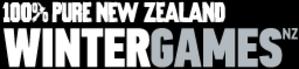 2009 New Zealand Winter Games - Image: New Zealand Winter Games Logo