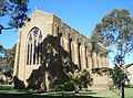 Newman College - chapel from rear.JPG