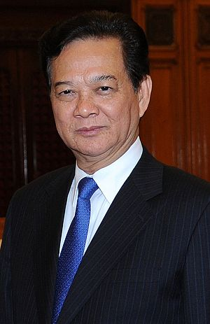 11th Politburo of the Communist Party of Vietnam - Image: Nguyen Tan Dung 2014 (cropped)