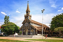 Kon Tum's wooden church