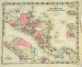 Nicaragua map b4 1860.png