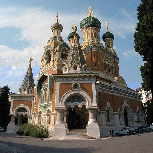 Nizza, Francia: cattedrale Cathédrale Saint-Nicolas