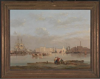 Victualling Commissioners - Activity at Plymouth's Victualling Yard, 1835